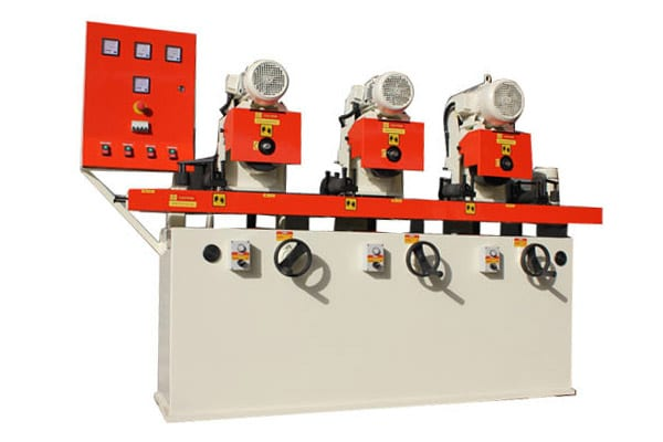 Flat Surface Polishing Machine Three Station Manufacturer, Supplier and Exporter in India