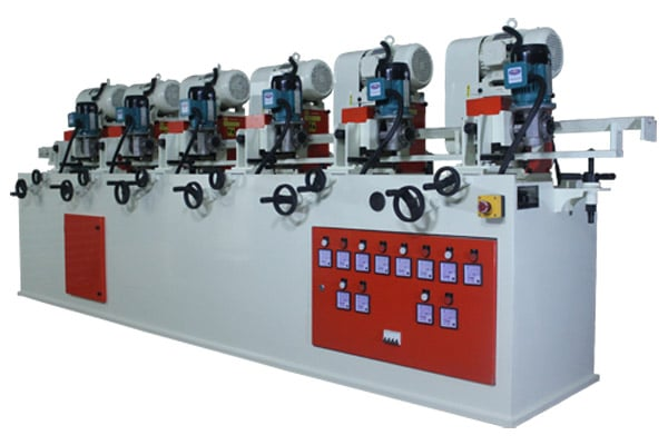 Six Roller Station Pipe Polishing Machine Manufacturer, Supplier and Exporter in Ahmedabad, Gujarat, India