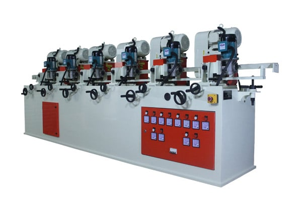 Steel Pipe Buffing Machine Manufacturer & Supplier in Ahmedabad, Gujarat, India